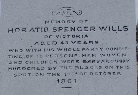 Horatio Spencer Wills epitaph